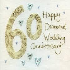 60 wedding anniversary diamond anniversary card bes3839 60th wedding anniversary