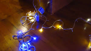 ebay 100 led xmas fairy lights part 2 view of control box and
