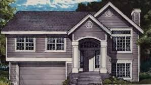 split entry home plans bi level house plans split entry raised home designs by thd