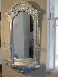 bathroom cabinets crystal framed mirrors black bling silver