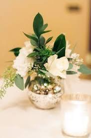 Mini Vases Bulk Rose And Greenery Arrangement In Mercury Glass Bud Vase Mercury