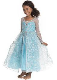 elsa costume disney s frozen elsa deluxe girl s costume 4 6x toys