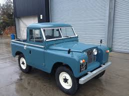 green range rover classic this is a land rover series 2 a 1967 truckcab marine blue no