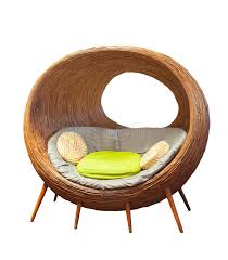 Circle Patio Furniture by Rattan Round Wicker Patio Chairs For Home Living Room Decorated