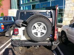 jeep rear bumper with tire carrier aev rear bumper w tire carrier review revolution expedition