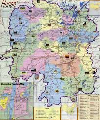Harbin China Map by Hunan Tourist Map U0026 Population China Maps Map Manage System Mms