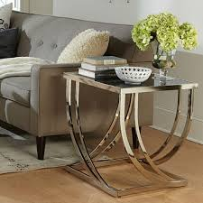 Glass End Tables For Living Room Glass End Tables For Living Room Living Room Cintascorner Glass