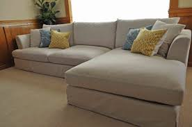 Slipcovers For Reclining Sofas by Furniture Inspirational Slipcover Sectional Sofa For Modern