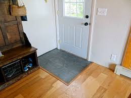 one project at a diy cabin wood floors