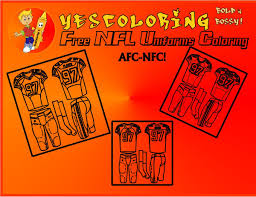 american football uniform coloring pages