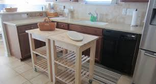 small kitchen counter ls kitchen island with wheels rustic cart ikea uk bench on perth