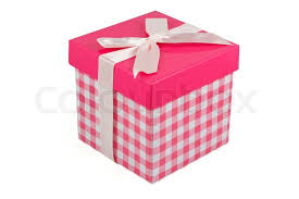 bow boxes pink gift box with bow stock photo colourbox