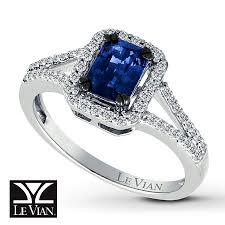 natural sapphire rings images Jared le vian 14k white gold diamond natural sapphire ring jpg