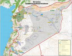 Map Of Syria And Russia Riac Russian Aces In Syrian Skies