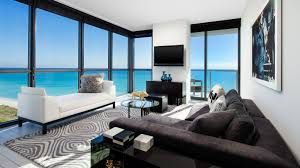 Beach Living Room by W South Beach Miami Caribtours