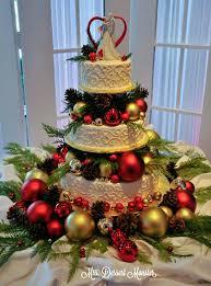 christmas wedding cakes wedding wednesday our christmas wedding cake mustang grooms