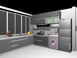 model kitchen cabinets gray kitchen cabinets 3d model 3dsmax files free download modeling