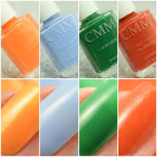 color me monthly swatch and review polish and paws