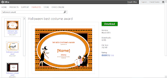 word halloween background free halloween templates and printables for microsoft office