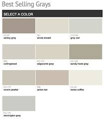 best selling u0026 popular shades of gray u0026 light neutral paint colors