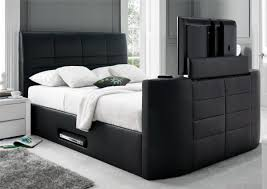 Bed Frame With Tv Built In Bedding Titanium T Tv Bed Frame Dreams Bed With Tv Built In