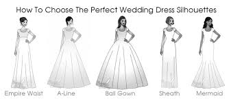 wedding dress type how to choose the wedding dress silhouettes for your