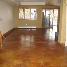 Diy Basement Flooring Interior Traditional Basement Flooring Ideas With Wooden Bench