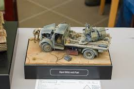 opel truck ww2 opel blitz mit flak ww ii dioramas u0026 vignette pinterest