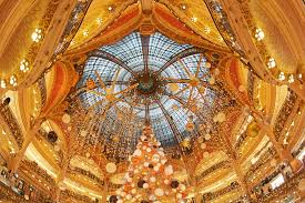 paris opera house chandelier all about galeries lafayette department store in paris