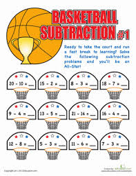 subtraction worksheets subtraction worksheets first grade