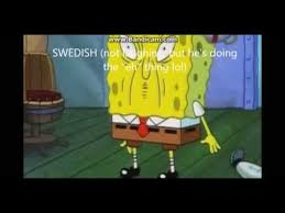 Different Languages Meme - spongebob laughing in different languages youtube