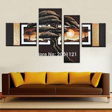 Art For Living Room Popular Brown Landscape Buy Cheap Brown Landscape Lots From China