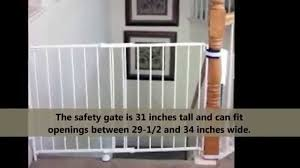 Baby Gates For Stairs No Drilling Easy Step Walk Thru Gate Review Does Regalo Easy Step Work