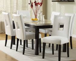 glass top dining room set square dining table having single open shelf black high gloss
