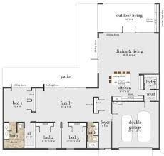 modern floor plans for new homes awesome modern floor plans for houses new home plans design