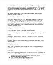 nail salon business plan document resume tips skills