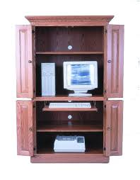 Amish Computer Armoire 40 Computer Armoire Desk