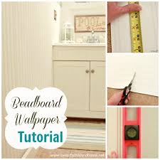 beadboard wallpaper tutorial love of family u0026 home