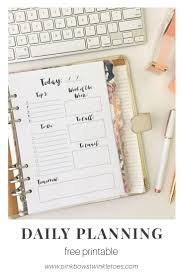 Daily Planners Templates Best 10 Printable Planner Ideas On Pinterest Free Printable