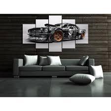 chambre de d馗ompression ford mustang rtr voiture peinture impression sur toile chambre décor