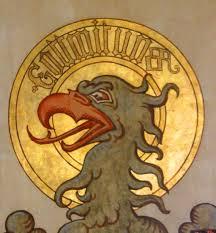 Kaiser Le Aigle Impérial Peint Sur Le Plafond De La Salle Du Kaiser Découvrez