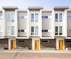 Modern Row House The Row Mile High U2013 Dirc Homes Llc