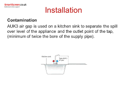 Air Gap Kitchen Sink by Unit 206 Domestic Water Systems Ppt Video Online Download