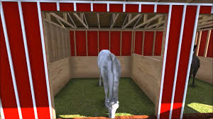 2 stall horse run in barn with tack room youtube