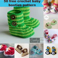50 free crochet baby booties pattern by jennyandteddy jpg fit u003d1200 1200