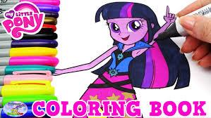 my little pony coloring book mlp eg twilight sparkle episode