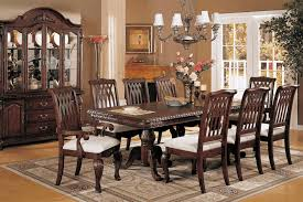 gorgeous formal dining room sets with buffet wine rack table hutch