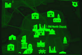 Fallout Interactive Map by Image Fo4 Map Old North Church Jpg Fallout Wiki Fandom