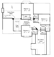 european style house plan 4 beds 3 5 baths 2764 sq ft plan 927