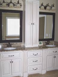 bathrooms design awesome bathroom vanity hutch cabinets home